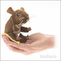 Folkmanis Fingerpuppe mini Feldmaus
