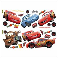 Pixar Cars Wandsticker - Decofun