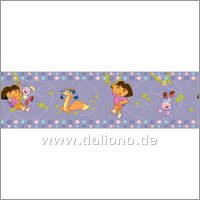 Dora the Explorer Bordüre - XXL - Decofun