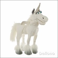 Living Puppets hand puppet Elke the unicorn