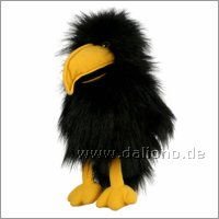 Hand puppet small crow with sound