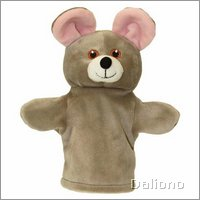 Baby hand puppet mouse