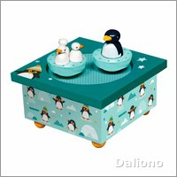 Trousselier Musikdose Pinguine