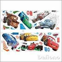 Pixar Cars 2 Wandsticker - Decofun