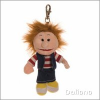 Living Puppets key ring Ronja