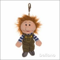 Living Puppets key ring Pelle