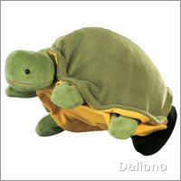 Hand puppet Turtle - by Beleduc