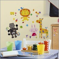 Lazoo Wall Decals - RoomMates for KiDS