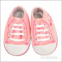 Living Puppets clothing: pink sneakers (65 cm hand puppets)