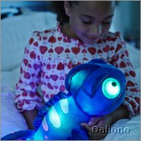 Charley the chameleon magic LED night light by cloud b