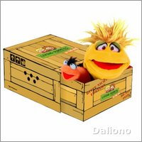 Living Puppets Handpuppe Little Yellow in der Box