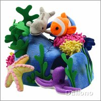 Underwater world - Finger puppets set
