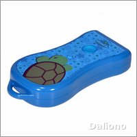 Twilight Turtle blue LED flashlight by cloud b