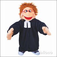 Living Puppets pastor's clothes (hand puppets 65 cm)
