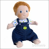 Rubens Kids doll Jonathan (new) by Rubens Barn