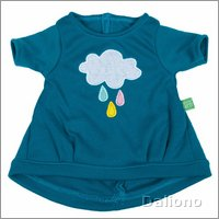 Extra outfit - cloud dress for Rubens Kids dolls