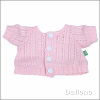 Extra outfit - pink cardigan for Rubens Kids dolls