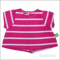 Extra outfit - pink t-shirt for Rubens Kids dolls