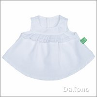Extra outfit - white top for Rubens Kids dolls