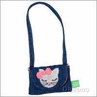 Extra outfit - kitty bag for Rubens Kids dolls