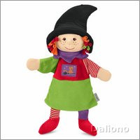 Witch - hand puppet for babys by Sterntaler