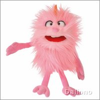 Living Puppets Handpuppe Bonsche - Monster to go!