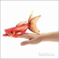 Folkmanis finger puppet mini goldfish