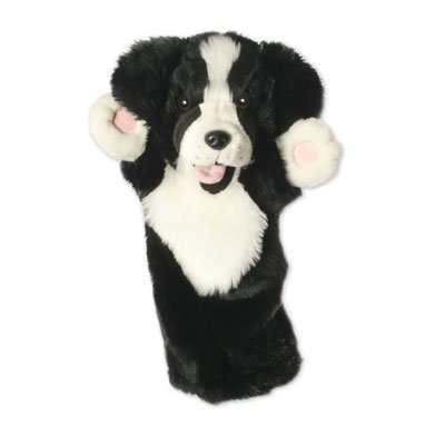 Lang-Handpuppe Border Collie