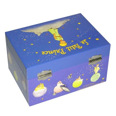 Trousselier the little prince jewel case / music box