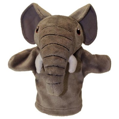 Baby hand puppet elephant