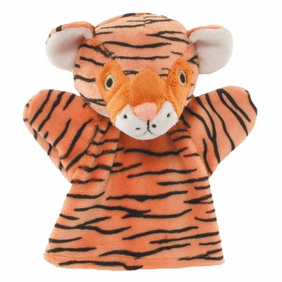 Baby hand puppet tiger