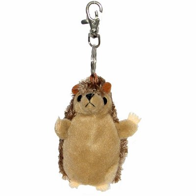 Hedgehog - Finger Puppet Key Ring