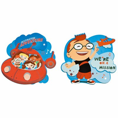 Little Einsteins wall decoration, two pcs. - Decofun