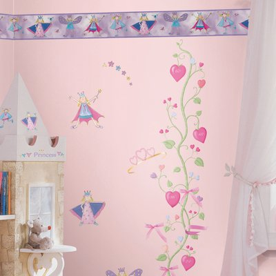 Fairy princess border - RoomMates for KiDS