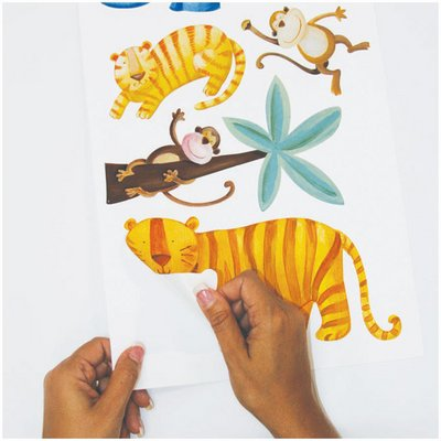 Jungle adventure appliques - RoomMates for KiDS