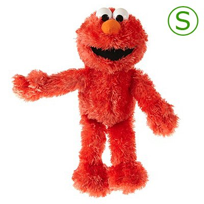 Living Puppets soft toy mini Elmo - S