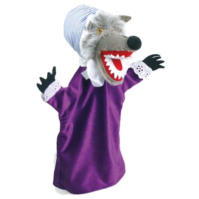 Hand puppet wolf, disguised - KERSA classic