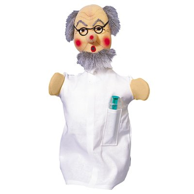 Hand puppet uncle doctor - KERSA classic