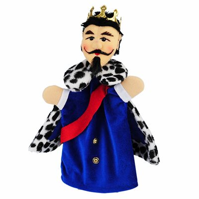 Hand puppet fairytale king - KERSA classic