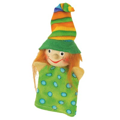 Finger puppet witch Lilo, nice - KERSA Fipu