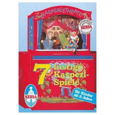 Text book with 7 game lyrics for puppet theater - Kersa
