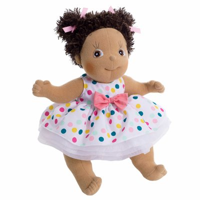 Extra outfit - dot dress for Rubens Kids dolls