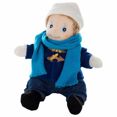 Extra outfit - blue coat for Rubens Kids dolls