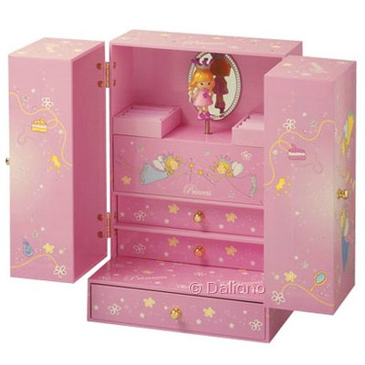 trousselier princess luxus schmuckk stchen mit spieluhr handpuppen shop living puppets. Black Bedroom Furniture Sets. Home Design Ideas