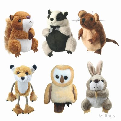 Wald-Tiere Fingerpuppen Set - Handpuppen Shop - Living ...