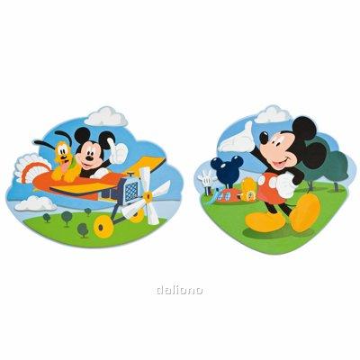 Mickey Mouse Clubhouse 2-tlg. Wanddekoration - Decofun