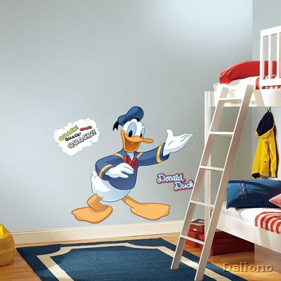 Donald Duck Wandbild - Micky Maus & Freunde - RoomMates for KiDS ...