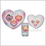 Disney Princess Melamin Geschirr Set 3-teilig