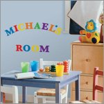 Colourful Alphabet Wandsticker - RoomMates for KiDS