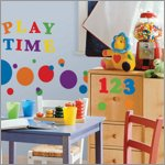 Colourful Numbers Wandsticker - RoomMates for KiDS